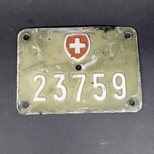 Nummernschild grün